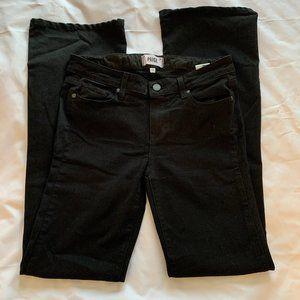 Paige Black Skyline Boot Jeans Size 28